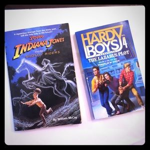 2 Mystery And Adventure Books